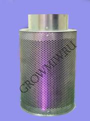 Высоко эффективный воздушный угольный фильтр с возможностью замены угля Clean smell 100 до 250 м³/ч.