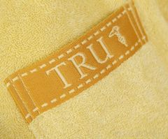 Элитный махровый халат Golf медовый от Trussardi