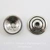 Шапочка для бусины (цвет - античное серебро) 11х3 мм, 10 штук