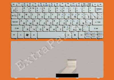 Клавиатура PACKARD BELL Dot SE (RU) белая