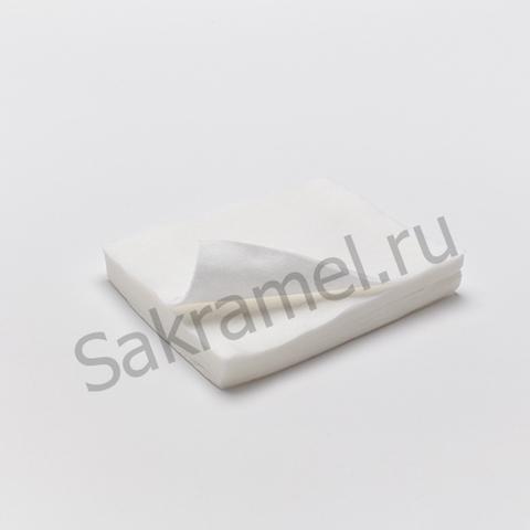 Салфетки  (Спанлейс, белый, 35х35 см, 50 шт/упк, вафельные люкс)