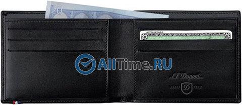 Купить Мужское портмоне S.T.Dupont 180400 по доступной цене