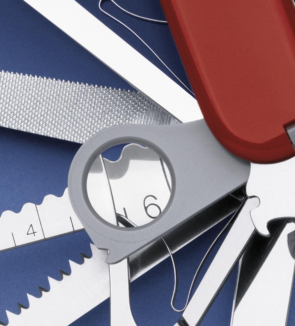 Швейцарский нож Victorinox SwissChamp красный (1.6795)