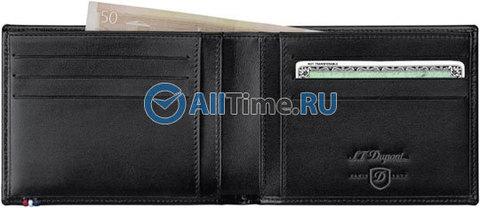 Купить Мужское портмоне S.T.Dupont 180402 по доступной цене
