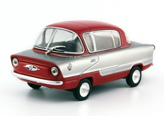 NAMI-050 Belka silver-red 1:43 DeAgostini Auto Legends USSR #115