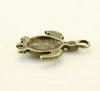 """Подвеска """"Черепаха"""" (цвет - античная бронза) 23х16 мм"""