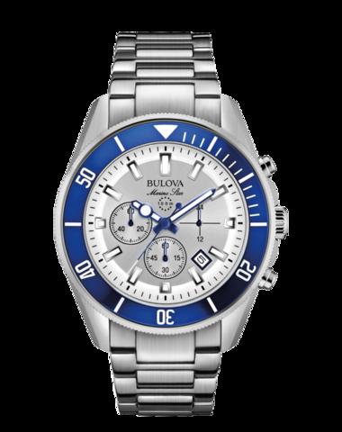 Купить Наручные часы Bulova Marine Star 98B204 по доступной цене