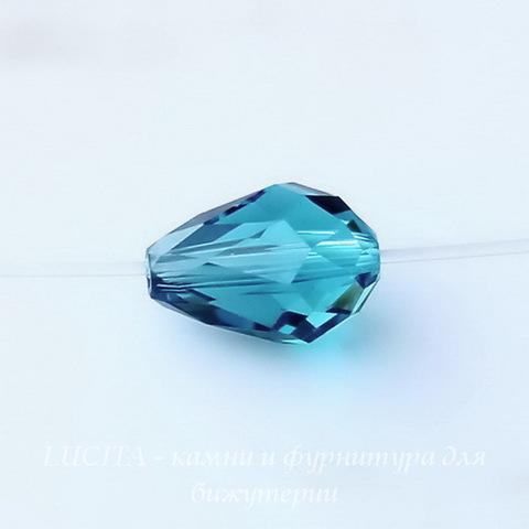 5500 Бусина - капля Сваровски Indicolite  9х6 мм ()