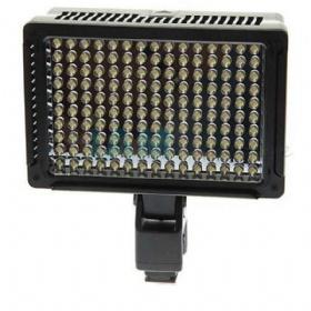 """Professional Video Light LED-VL003-150 Светодиодный накамерный свет имеет 150 диодов и устанавливается на камеры с креплением """"горячий"""
