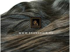 натуральные волосы в срезе brandhair