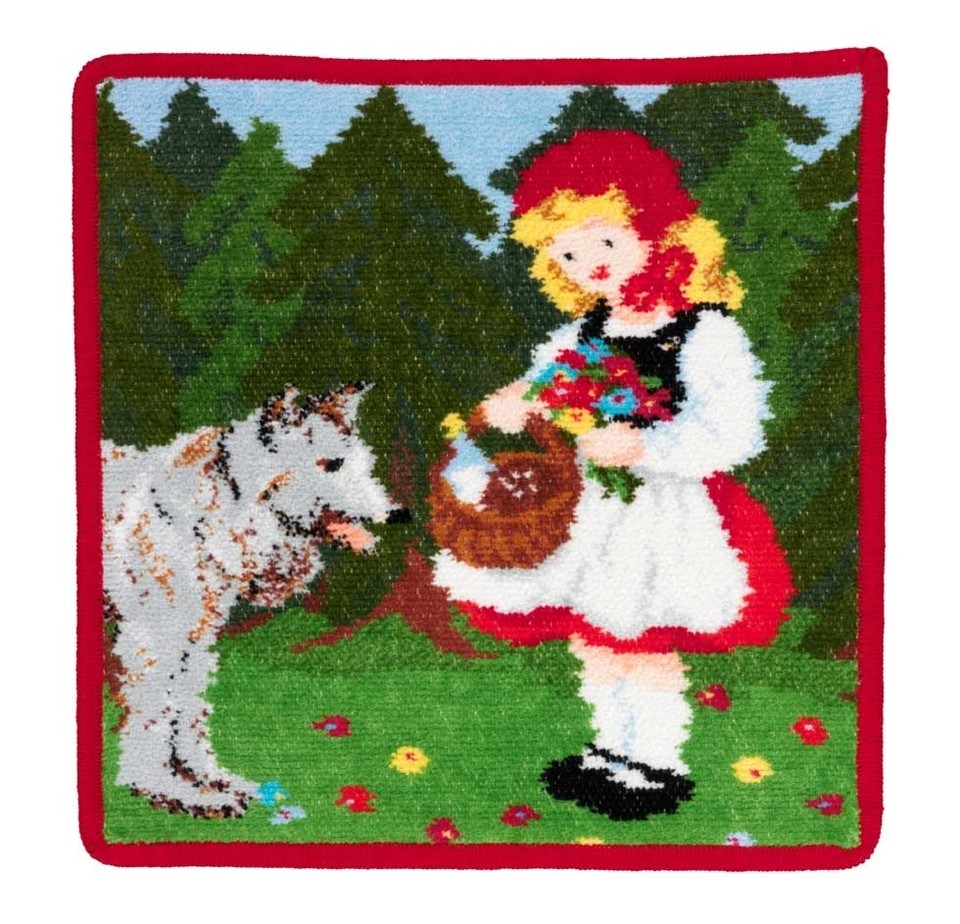 Полотенца Полотенце детское 25x25 Feiler Marchen Little Red Riding Hood elitnaya-salfetka-shenillovaya-detskaya-marchen-little-red-riding-hood-ot-feiler-germaniya.jpg