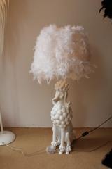 торшер Lovely Dog by Delightful белый H - 140 cm