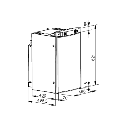 Автохолодильник Dometic RM 8400