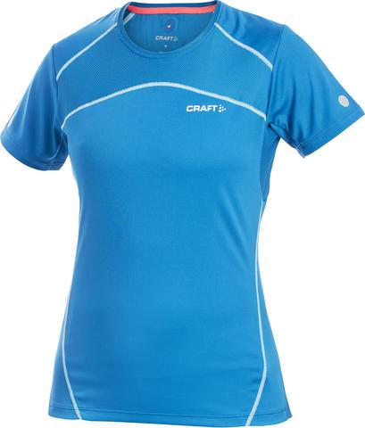 Футболка беговая женская Craft Performance blue