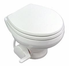 Туалет вакуумный SeaLand VacuFlush 5006 (12/24 В, белый)