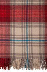 Элитная наволочка декоративная Lux 32 бежево-красная от Luxberry