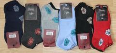 Носки женские махровые короткие