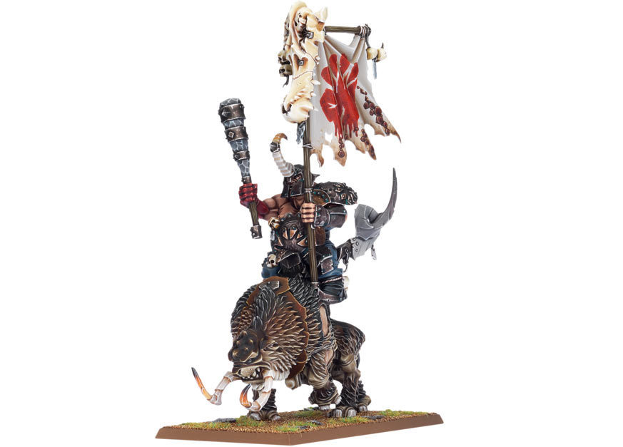 Ogre Kingdoms Mournfang Cavalry
