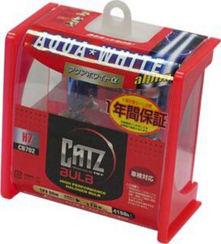 Газонаполненные лампы CATZ H7 CB702 (4150К)