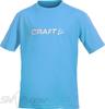 Футболка подростковая Craft Light Logo Blue