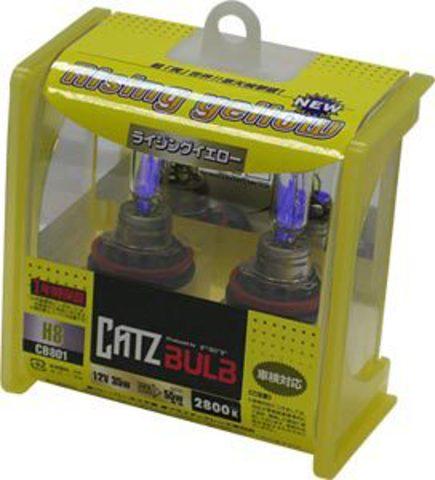 Газонаполненные лампы CATZ H8 CB801 (2800К)