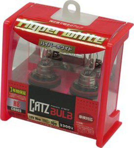 Газонаполненные лампы CATZ H8 CB803 (3300К)