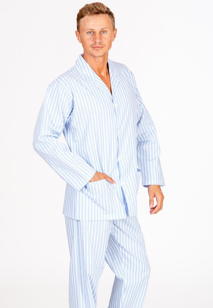 Мужская хлопковая пижама B&B (Домашние костюмы и пижамы)