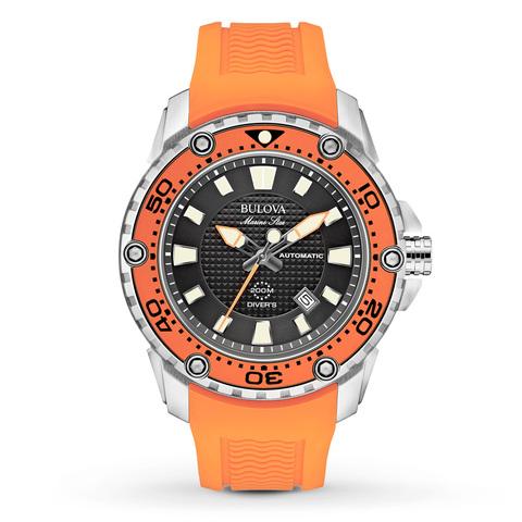Купить Наручные часы Bulova Marine Star 98B207 по доступной цене