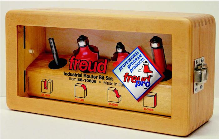Набор из 4-х фрез Freud 9520012 12 мм с хвостовиком