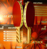 Ракетка для настольного тенниса №23 Balsa Carbon Off+/Max Attack