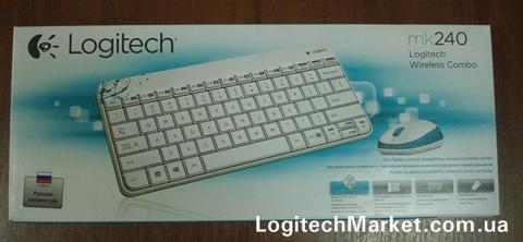 LOGITECH MK240 White [91255]