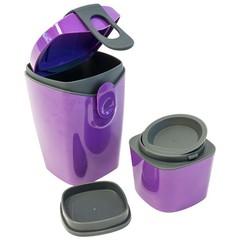 Ланч-Бокс (Контейнер для еды) Compleat Energy Booster Фиолетовый (Unikia)