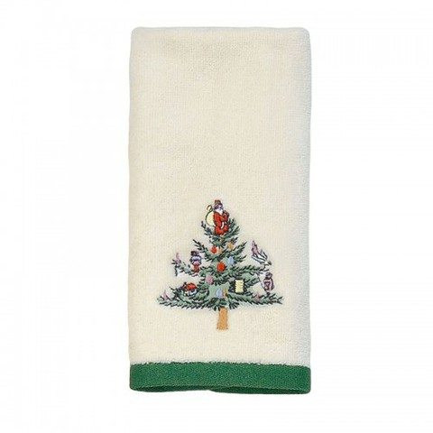 Полотенце 28х46 Avanti Spode Christmas Tree кремовое