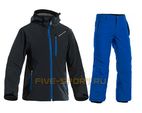 Костюм  8848 Altitude Apex Softshell/Steller детский Black/Blue