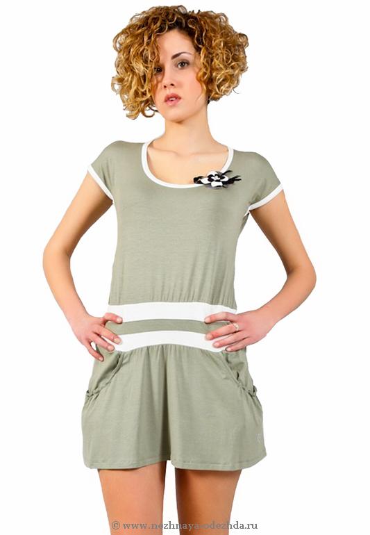 Платье с кармашками Pepita