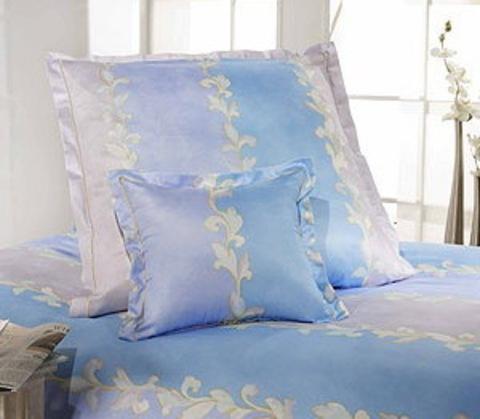 Элитный пододеяльник Assam синий от Elegante