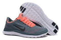 Кроссовки женские Nike Free Run 3.0 V5 Dark Grey Orange