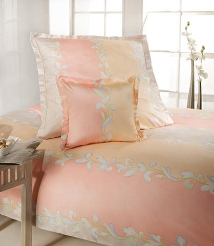 Элитный пододеяльник Assam розовый от Elegante