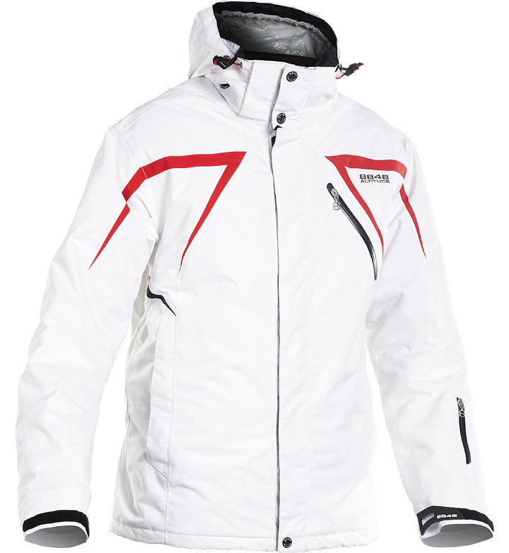 Куртка 8848 Altitude Next Jacket белая