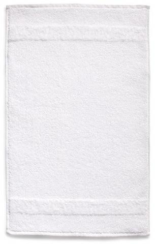 Элитный коврик для ванной Fyber белый тонкий от Carrara