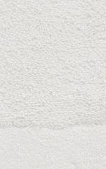 Коврик для ванной 60x90 Carrara Fyber белый тонкий