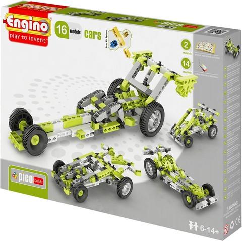 Engino Автомобили - 16 моделей, серия Пико