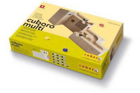 Деревянный конструктор CUBORO Multi