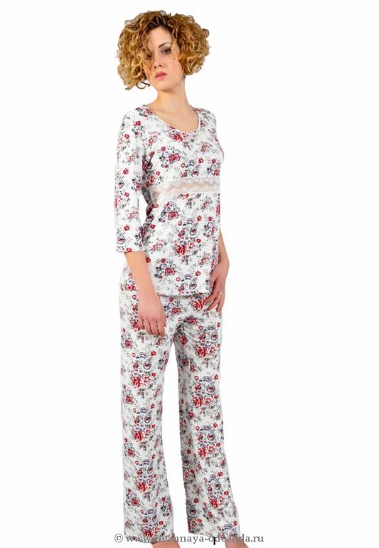 Женская пижама Tata (Домашние костюмы и пижамы)