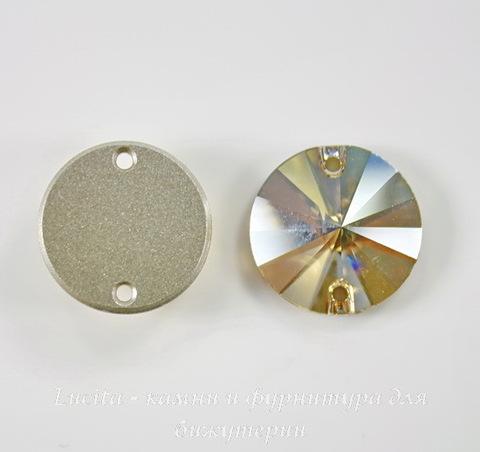 3200 Пришивные стразы Сваровски Crystal Golden Shadow (14 мм) ()