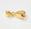 Держатель кулона - петелька 12х7х4 мм (цвет - золото)