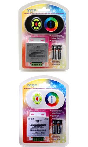 Радиоуправляемый контроллер с сенсорным кольцом MTF Light CRGB-18A (RGB)