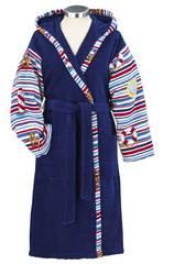 Элитный халат шенилловый Porto Paul 204 blau от Feiler