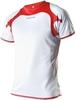 Женская футболка Noname Running 2012 white-red