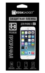 Пленка защитная для iPhone 6 MediaGadget PREMIUM ПРОЗРАЧНАЯ ГЛЯНЦЕВАЯ